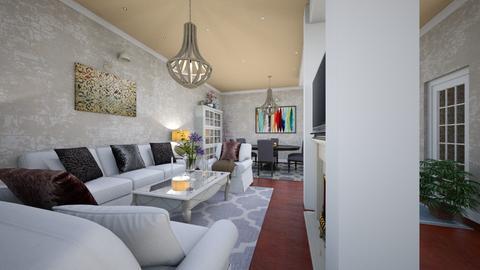 Living room - Classic - by Bianca Interior Design
