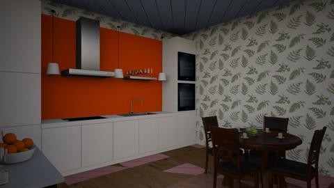 modern kitchen - Modern - Kitchen  - by GraceB134851