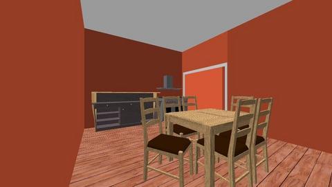 3 - Modern - Dining room  - by Johnny Jangula
