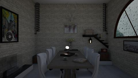 madaline_elliers11_rmx - Rustic - Dining room  - by PAPIdesigns