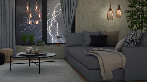 Lamps III - Living room  - by Tuija