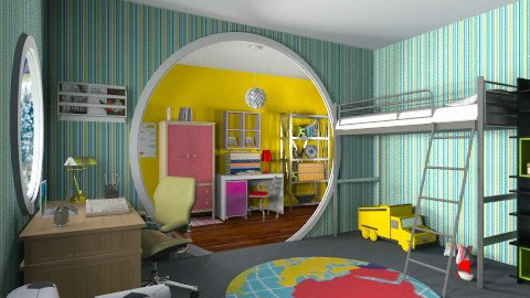 Brothers rooms - Kids room  - by Alternative