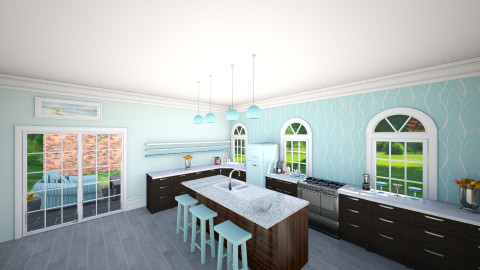 Dream kitchen - Classic - Kitchen  - by momo9000
