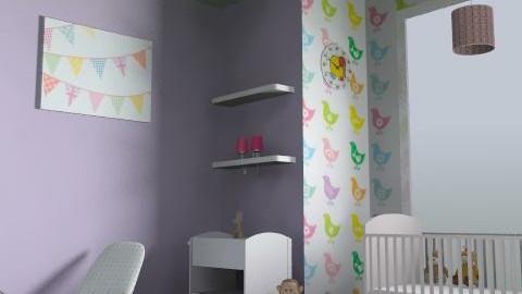 Kids Room - Rustic - Bedroom  - by tessakok1