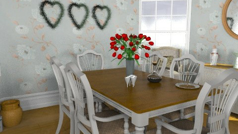 Country Dining Inspired by Abdallah Alayan - Country - Dining room  - by Carliam