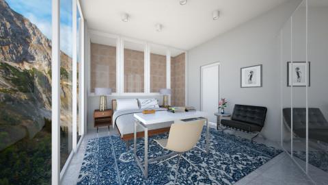 Mountain View Bedroom - Modern - Bedroom  - by 3rdfloor