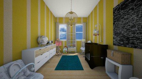 My kid room  - Vintage - Kids room - by simaoana
