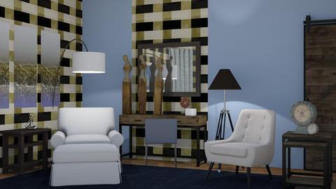 Rustic Modern - Rustic - Living room  - by XiraFizade
