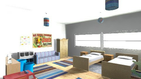 rwerewr - Classic - Kids room  - by jvfernadezd