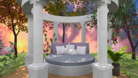 Day bed  - Modern - Garden - by deleted_1566988695_Saharasaraharas