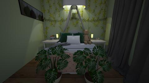 Plant room  - Bedroom  - by Kalia_bliss