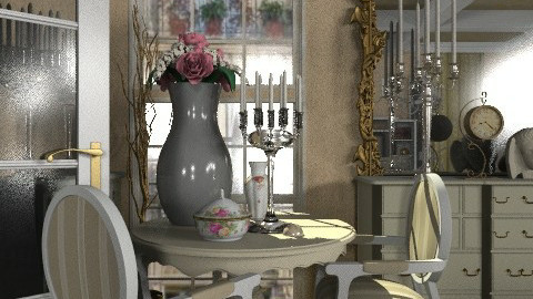 French apartment: Living - Classic - Living room  - by Your well wisher