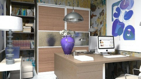 office - Modern - Office  - by The_Hunter_and_Gatherer