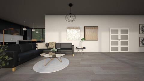 gray sunrise - Modern - Living room  - by YourSisterTho