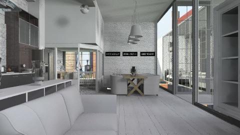 IndustrialCosyLivingRoom - Modern - Living room  - by StienAerts
