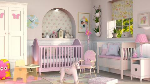 Surprise Baby Nursery - Eclectic - Kids room  - by Sally Simpson