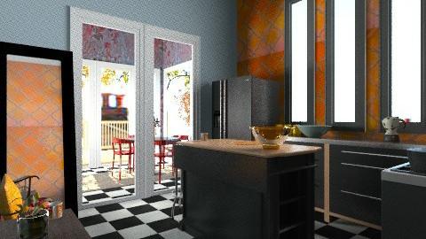 TTk - Eclectic - Kitchen  - by mrschicken