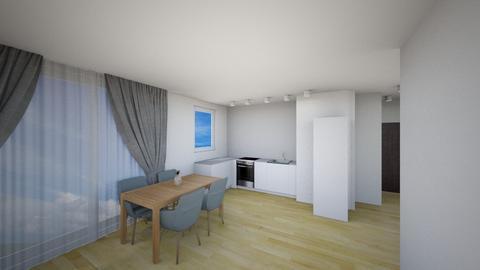 Kuchnia A - Living room - by KatarzynaLaszczyk