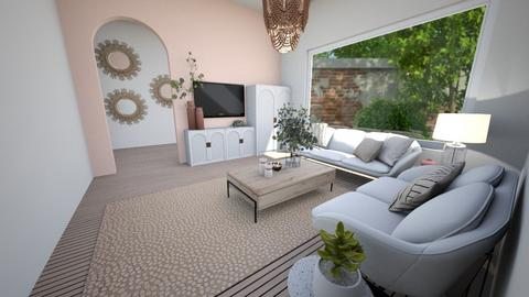 P2 LIVING ROOM - Living room  - by aestheticXdesigns