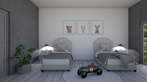 Kids room double - Kids room  - by Ontwerpstudio34