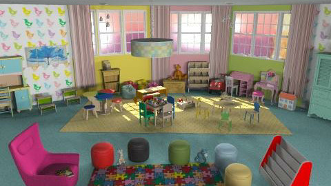 Kids Class/Play Room - Eclectic - Kids room  - by jgm728