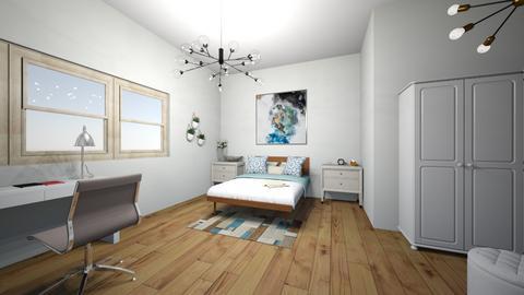 Design de ambient  - Bedroom  - by Monica Stoica