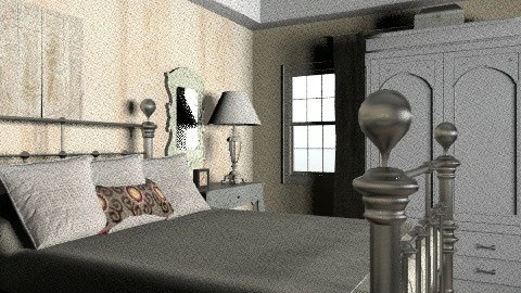 tradition5 - Rustic - Bedroom  - by Yellow1806