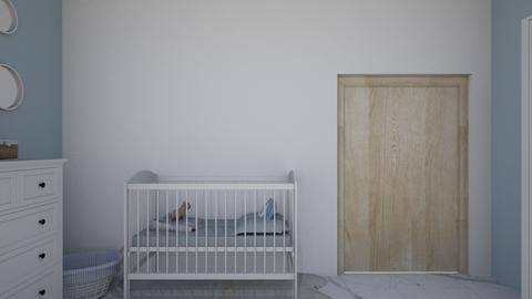 Nursery girl - Kids room  - by martinamont1998