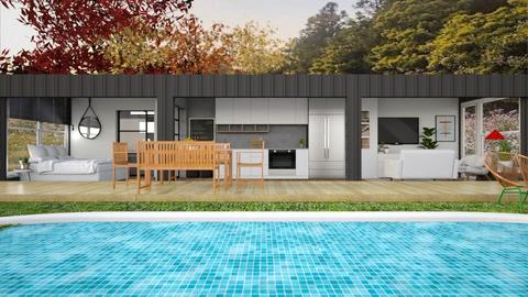 Container home - Garden  - by rademenes23