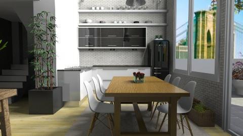 Heart of home - Modern - Kitchen  - by Tuija