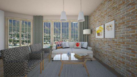 HF Design inspiration - Eclectic - Living room  - by Lucii