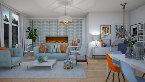 Vibrant - Modern - Living room - by janip