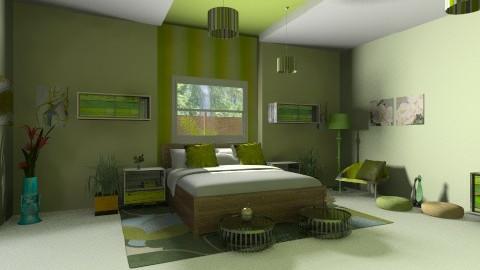 green - Classic - Bedroom  - by carlita
