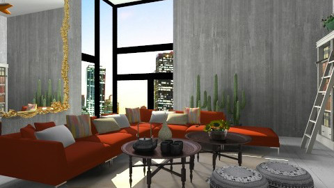 Johnny Eclectic City Pad - Eclectic - Living room  - by 3rdfloor