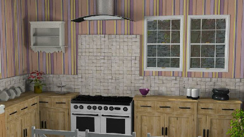 Country Kitchen - Country - Kitchen - by Lety31