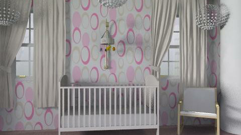 girl nursery - Modern - Kids room  - by ioanavladut7