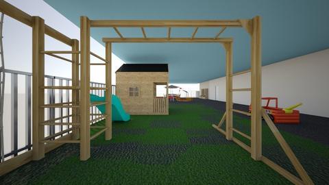 Preschool playground - Garden - by Jazzyjojo177
