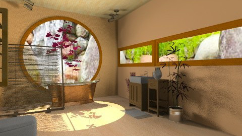 my dream bathroom 3 - Rustic - Bathroom  - by Oliveira Fabio