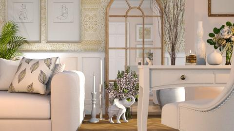 white corner - Bedroom  - by LB1981
