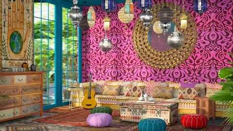 In Bohemia - Eclectic - Living room  - by kitty
