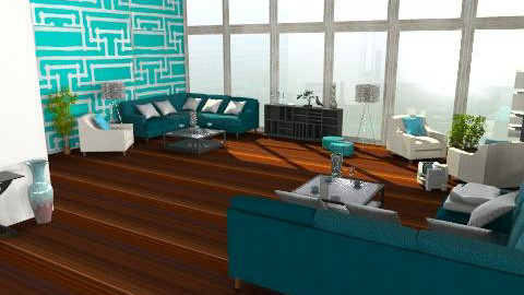 Apartment - Eclectic - Living room  - by HazelMP