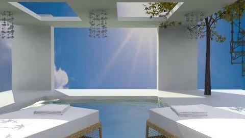 zebra pool party - Modern - Garden  - by hunny