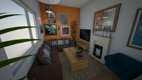 Revesby 03 - Classic - Living room - by Veeveenatyisy