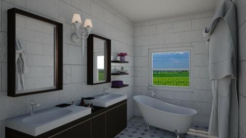 cheryl house - Modern - Bathroom  - by Mi Wei