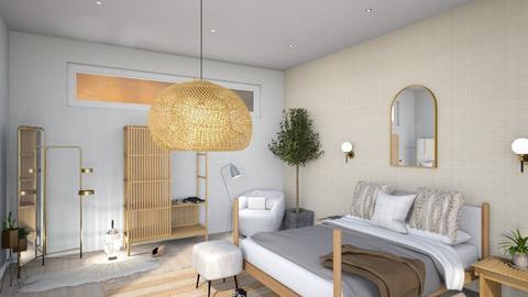 Neutral Palette - Bedroom  - by milk07Designs