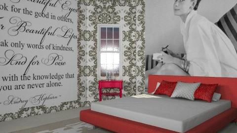 Audrey Hepburn - Glamour - Bedroom  - by misslynn170