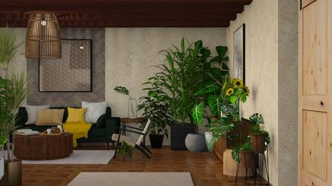 Indoor Garden - Living room  - by JennieT8623