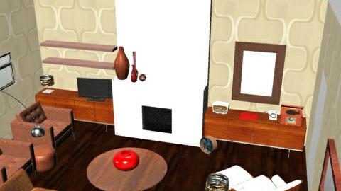 RetroLounge - Retro - Living room  - by camilla_saurus