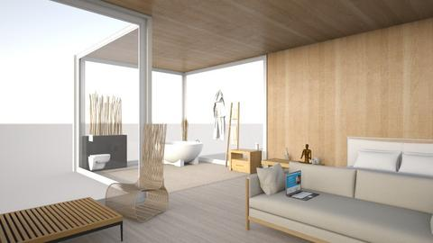 Feng Shui  - Minimal - Bedroom  - by pyntie