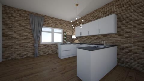 q - Modern - Kitchen  - by hicran yeniay